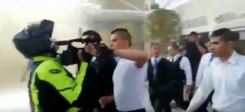 Personal de Plaza Tepeyac, insulta a reportero que llegó a cubrir incendio