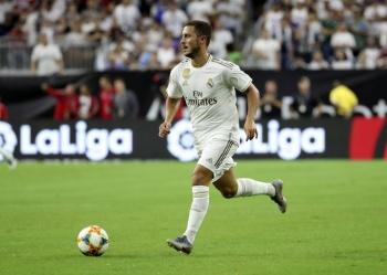 Eden Hazard se lesiona y se pierde el debut del Real Madrid ante el Celta