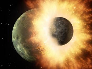 Enorme planeta pudo haber colisionado con Júpiter hace mucho tiempo