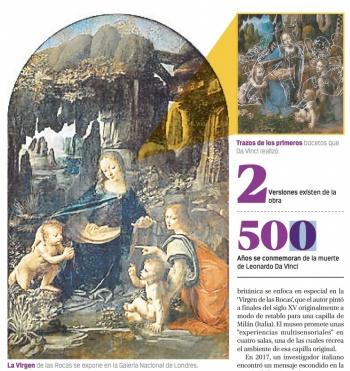 Luz usada en cueva de Bin Laden, revela boceto oculto de Da Vinci
