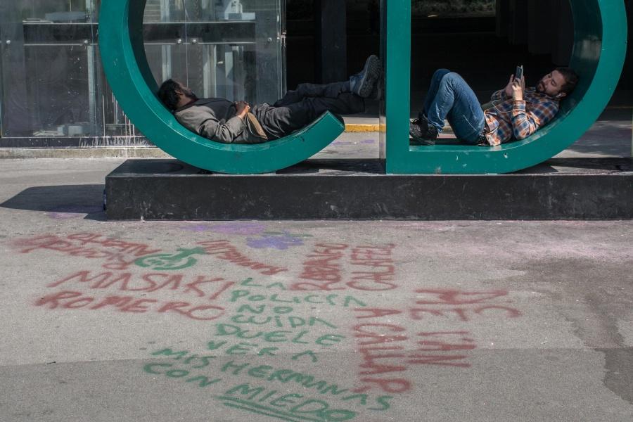 Mujeres rechazan actos vandálicos con el hashtag #EllasNoMeRepresentan