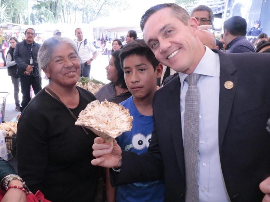 Inauguran nueva edición de la Feria del Hongo en Cuajimalpa