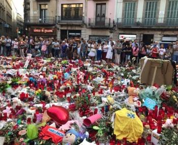 A dos años, Barcelona recuerda a víctimas de atentados