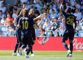 Real Madrid se lleva los tres puntos en su visita al Celta de Vigo
