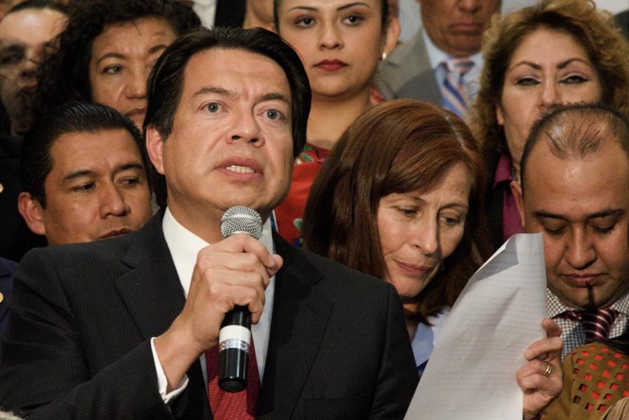 Llama Mario Delgado a Morena a renovarse de manera abierta y transparente