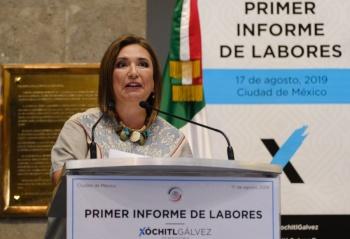 Xóchitl Gálvez pide una mayor investigación sobre la Estafa Maestra