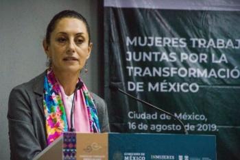 Esencial, avanzar hacia un clima de paz y justicia, donde las mujeres se sientan seguras: Sheinbaum
