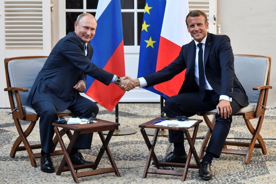 Macron Propone a Putin una cumbre para tratar crisis ucraniana