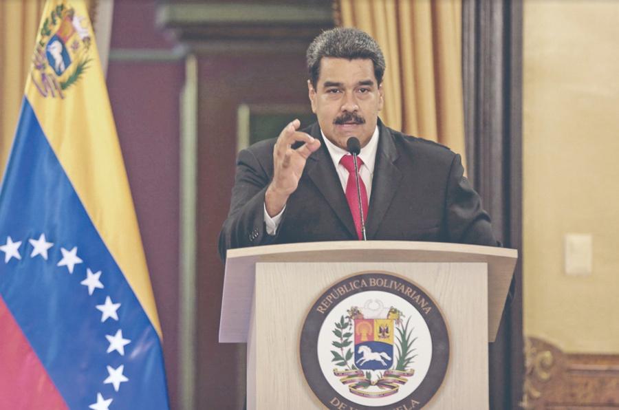 Maduro señala a Trump de hacer a Venezuela lo que Hitler a los Judíos