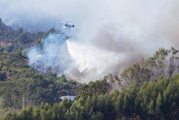 Consume incendio 6 mil hectáreas en la Gran Canaria y miles de personas desalojan