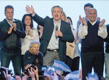 Candidato opositor en Argentina desdeña acuerdos con el FMI