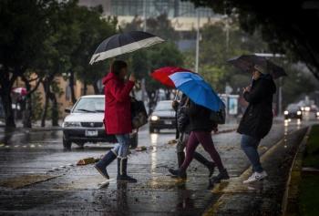 ¡No olvides el paraguas! Persistirán las lluvias fuertes en el Valle de México