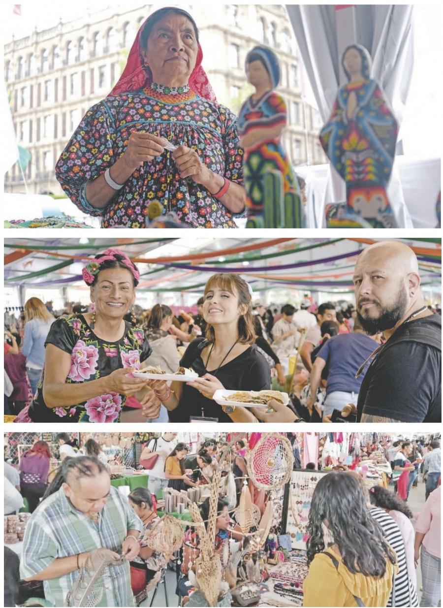 Arman en el Zócalo Fiesta Artística De Pueblos
