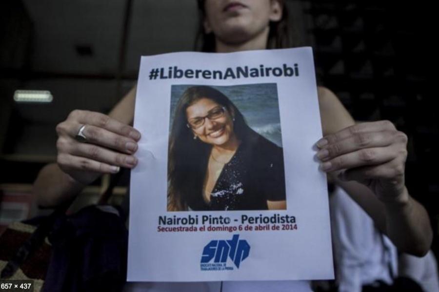 ...Y periodista secuestrada por Polícia es liberada