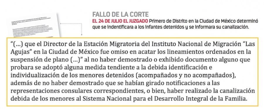 """""""Pierden"""" a 150 niños migrantes en Las Agujas"""