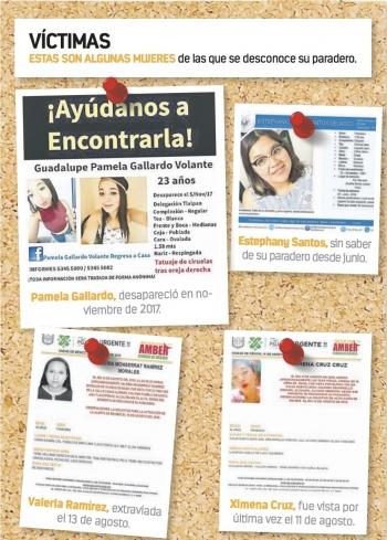 Buscan restos de joven desaparecida en Ajusco