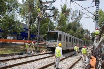 Tren Ligero suspende servicio por falla en riel