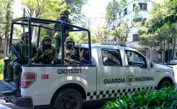 SSC cede a Guardia Nacional dos estaciones de policía