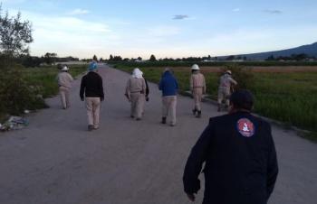 Cierran circulación en autopista Puebla-Orizaba por fuga de gas