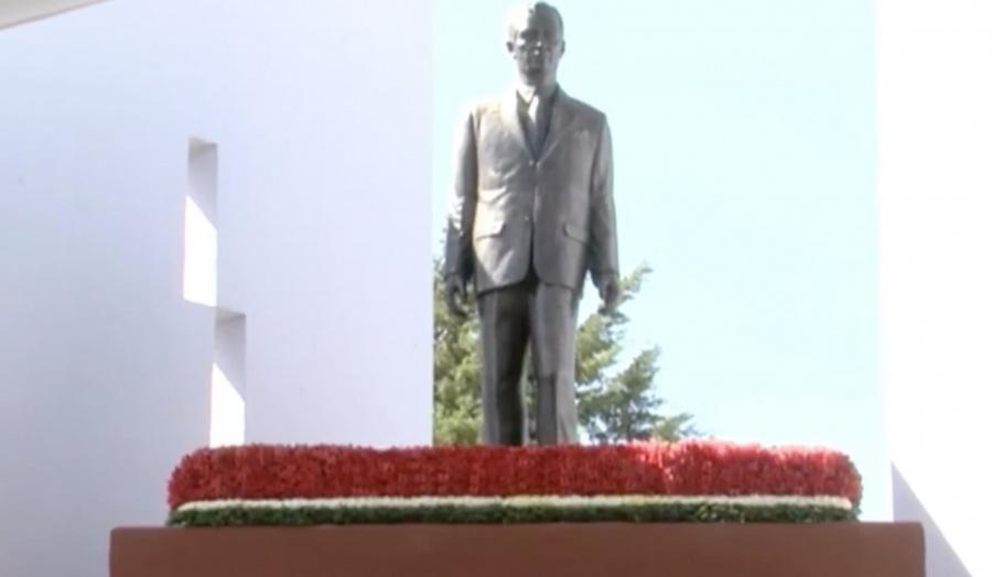 Conmemoran legado de Alfredo Del Mazo Vélez a 115 años de su nacimiento