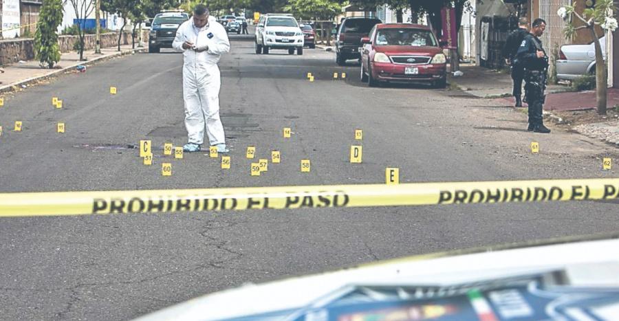 Violencia en el país rompe récord; van 20 mil homicidios en sólo 7 meses