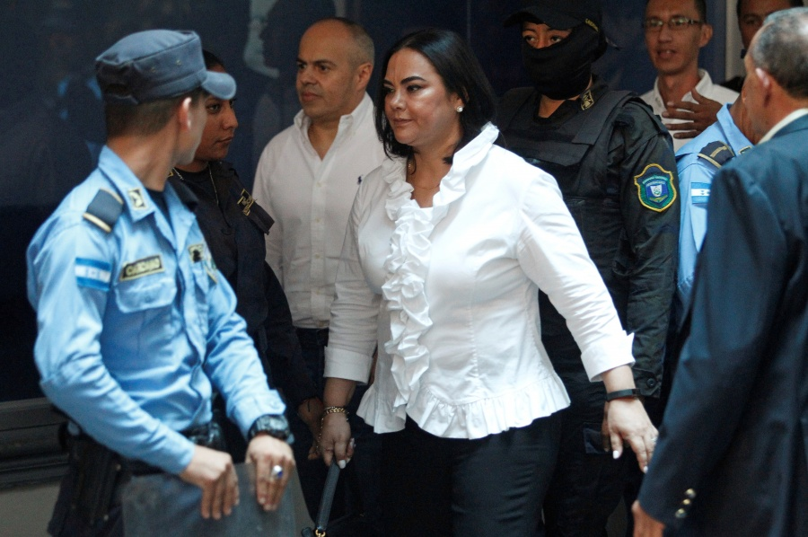 Exprimera dama de Honduras, culpable por delitos de corrupción