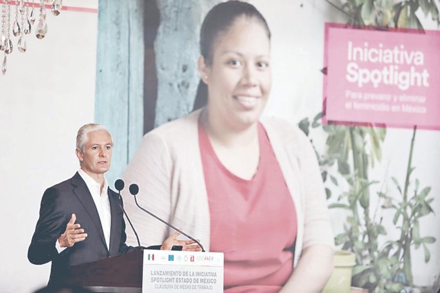 Edomex aplica Spotlight para proteger a mujeres
