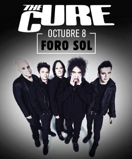 Oficial: The Cure regresa a México