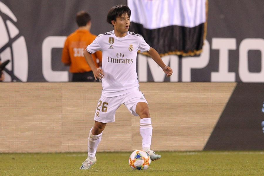 Oficial: Real Madrid cede a japonés Kubo al Mallorca