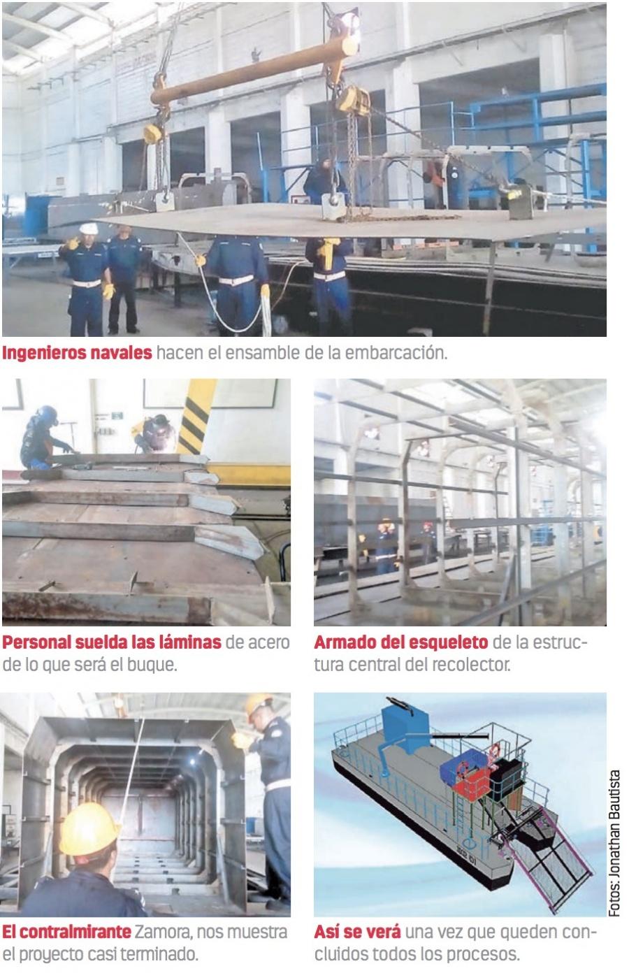 Alista Semar cuatro buques recolectores de sargazo