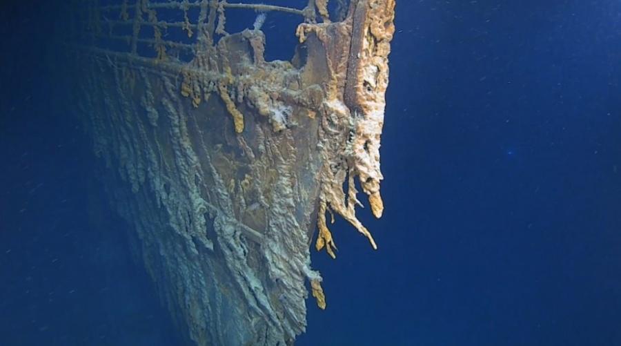 Revelan nuevas imágenes del Titanic