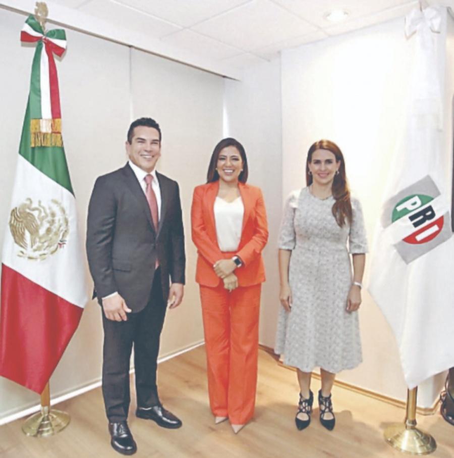Alito suma a Lorena Piñon en su equipo para el PRI