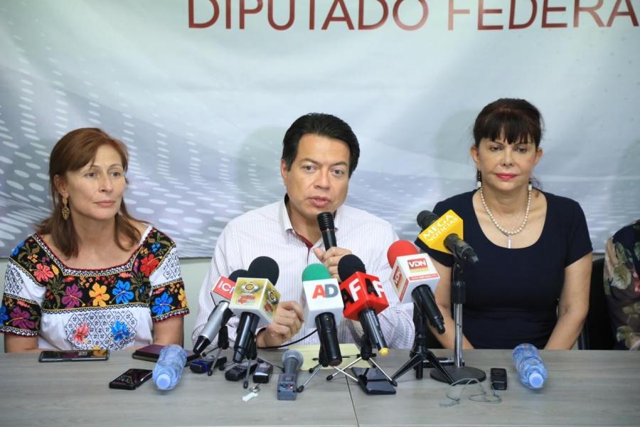 Se termina con moches y corrupción en presupuesto de egresos: Mario Delgado y Tatiana Clouthier