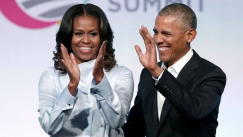 Barack y Michelle Obama hacen debut cinematográfico en Hollywood