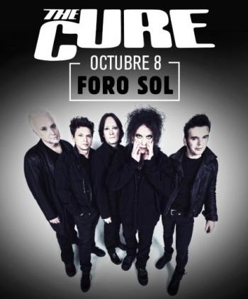 Oficial: The Cure regresa a México