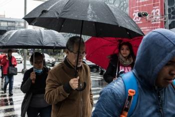 Prevén lluvias puntuales fuertes en la CDMX para este jueves