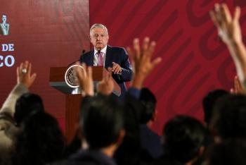 Descarta López Obrador polemizar con Banxico por política económica