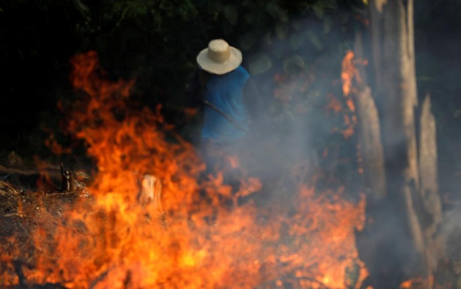 El mundo mira con horror los múltiples incendios que se dan en la selva amazónica