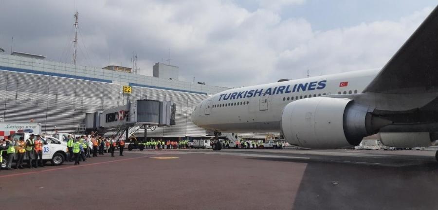 Aterriza el primer vuelo Estambúl-CDMX