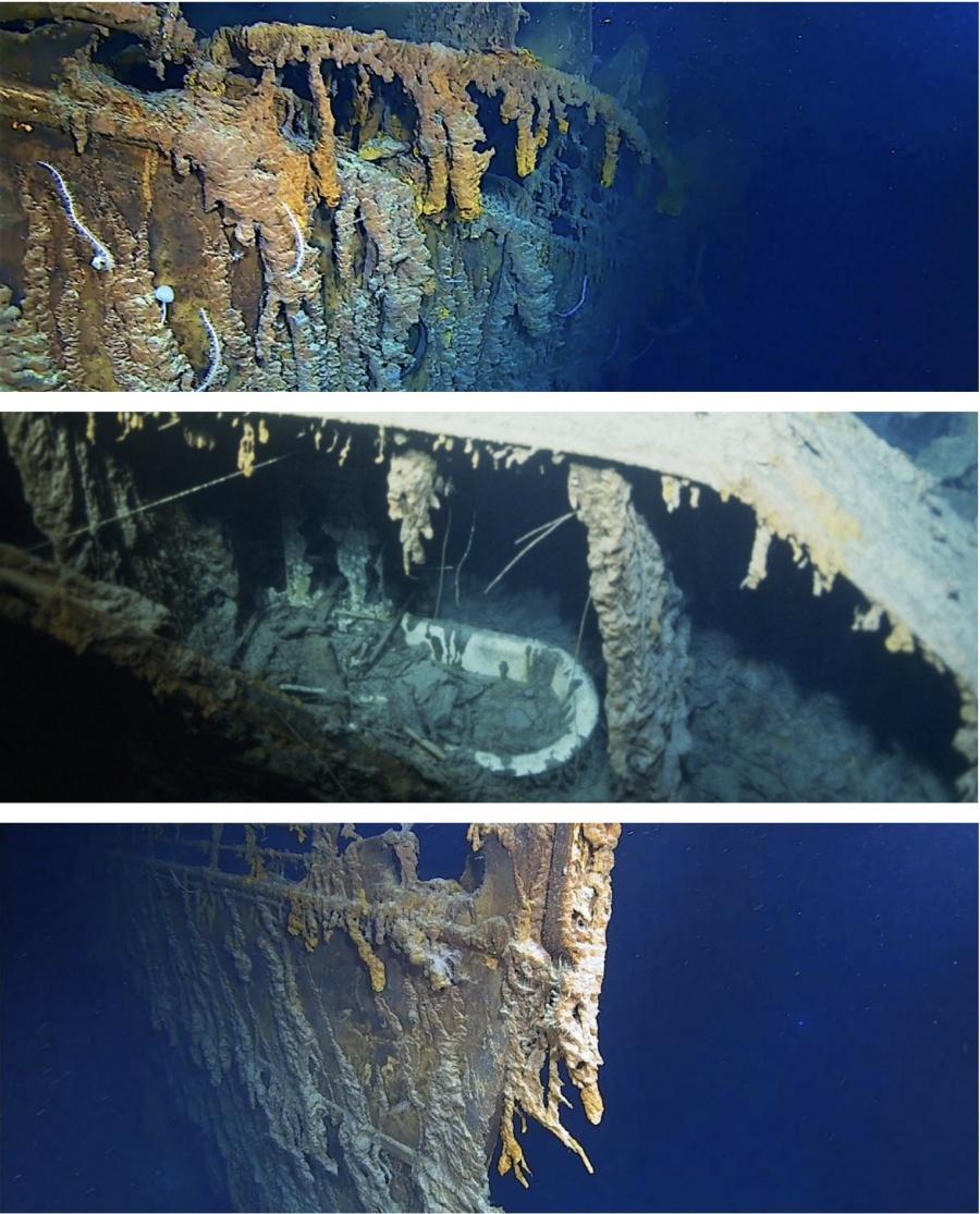 Por primera vez en 14 años exploran restos del Titanic