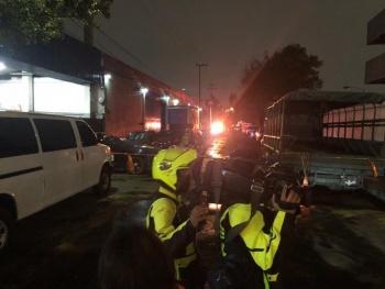 Reportan seis personas heridas por flamazo en toma clandestina en Iztacalco