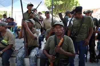 Expulsan autodefensas a GN de municipio de Oaxaca