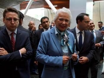 Estoy más firme que nunca en Segob: Sánchez Cordero
