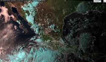 Tormenta tropical Ivo se desplaza al suroeste de Baja California Sur