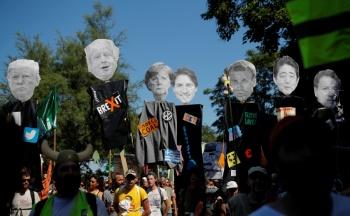 Comienza cumbre del G7 en medio de tensiones y protestas