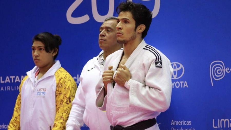Judocas mexicanos ganan oro en Parapanamericanos de Lima 2019