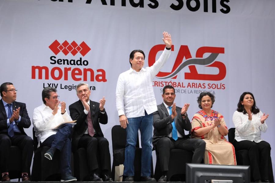 La unidad legislativa permitirá alcanzar los objetivos de la Cuarta Transformación: Mario Delgado
