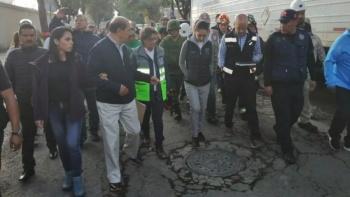 Desalojan zona de toma clandestina en Iztacalco