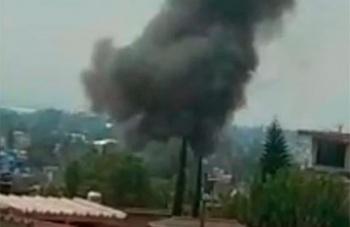 Reportan explosión en almacén de materiales pirotécnicos en Tultepec