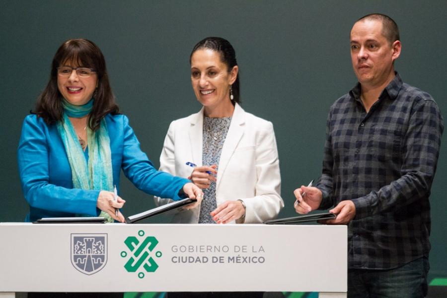 Firma gobierno capitalino y Conacyt convenio de colaboración